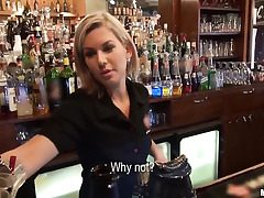 Who cry out for on every side charge from a barmaid?