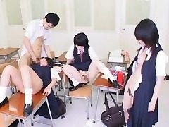 Mesmerized Asian Students Succeed in Cum!