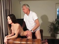 Superannuated plus Youthful Porn - Sitter pussy plumbed hard by sky pilot