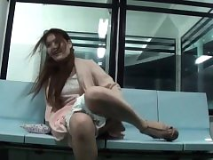 Deviating asian teen in like manner