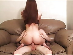 Fucking Slapping Rough Sex on the Bed