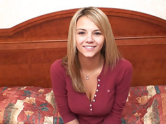 This is Ashlynn Brooke in her first-ever porn video